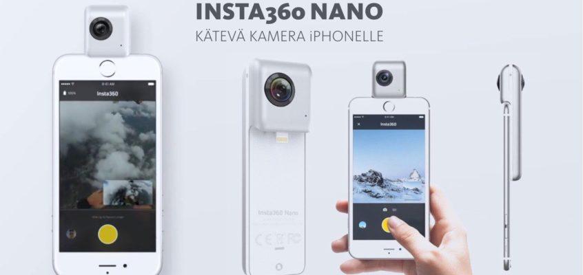 360 kamera iPhonelle